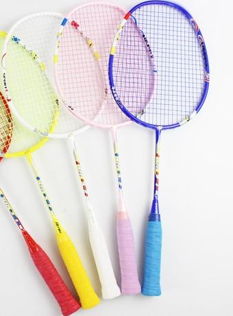 Cours de badminton au BOUM