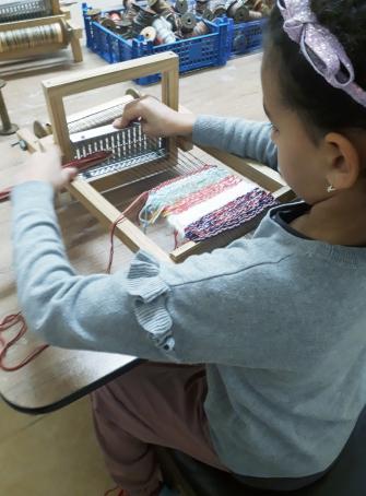 Atelier : les enfants dans la peau des canuts