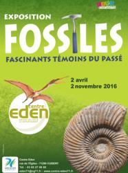 Expo Fossiles au centre Eden