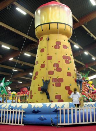 Un parc de jeux géant s'installe à Clermont