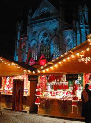 Marché de Noël Place du Parlement de Bretagne