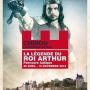 La légende du roi Arthur - Forteresse royale de Chinon