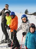 Une journée au ski sans les parents