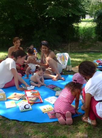 Lectures au parc