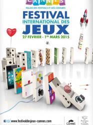 Festival International des Jeux - Cannes 2015 affiche