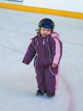 Enfant patinoire