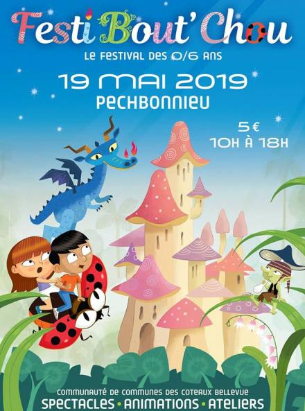 Festi Bout' Chou - Affiche 2019