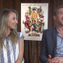 Audrey Lamy et Jean-Paul Rouve dans Les Nouvelles Aventures d'Aladin