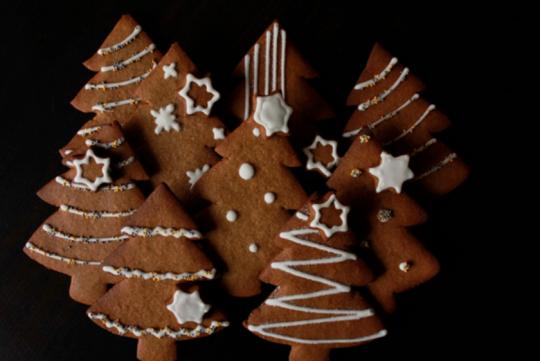 Des recettes faciles de biscuits de Noël pour les enfants - Biscuit sapins
