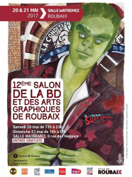 Salon de la BD et des Arts graphiques de Roubaix 2017