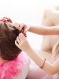 Top coiffure de princesse