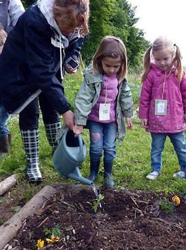 Ateliers jardinage avec Croque Jardin