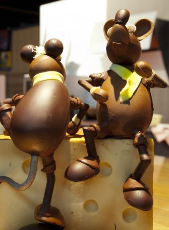 Des souris chocolatées