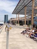 Terrasses du port
