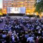 Cinéma en plein air à Lyon