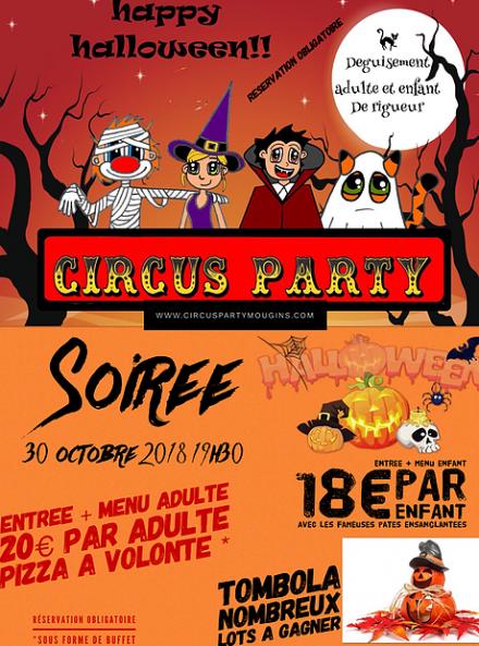 Halloween 2018 - Circus Party