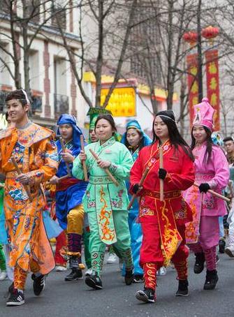 Festival asiatique du 13e arrondissement avec les enfants