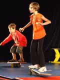 Cours de cirque pour enfants
