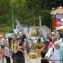 Fête aux ânes à Escragnolles