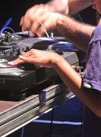 Little Sonique au Villette Sonique - Atelier enfant avec DJ Micha
