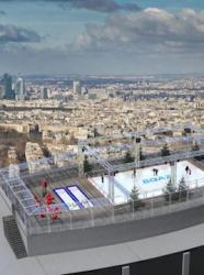 Patinoire à la Tour Montparnasse