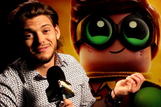 Rayane Bensetti en interview CitizenKid pour LEGO Batman