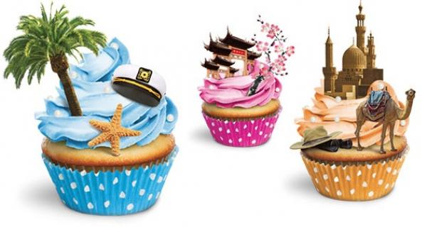 Salon du tourisme Mahana - cupcakes