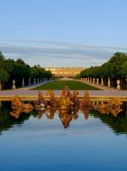 Château de Versailles : fontaine et vue sur les jardins