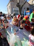 Enfants déguisés au carnaval, dans l'Hérault