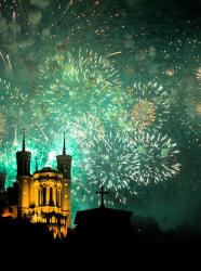Festivités 14 juillet à Lyon sur les Quais de Saône