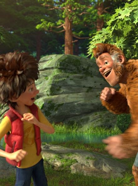 Bigfoot Junior - Yeti et Adam