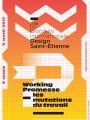Affiche de la Biennale du Design de St-Etienne 2017.