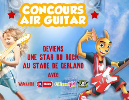 Concours Air Guitar avec CitizenKid