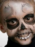 Maquillage Halloween avec Grim'tout