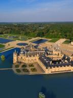 Domaine de Chantilly - Vue aérienne du château et du parc