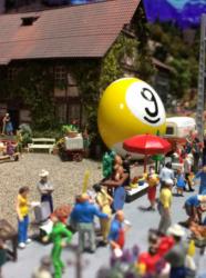 Chasse aux oeufs de Pâques 2017 à Mini World