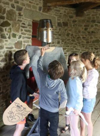 Les vacances au Château de Fougères
