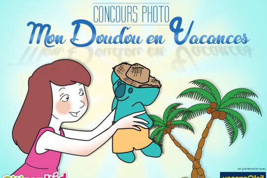 """Concours """"Mon Doudou en vacances"""""""