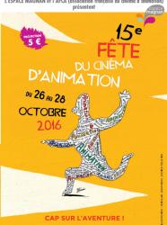 Fête du cinéma d'animation 2016 à l'Espace Magnan
