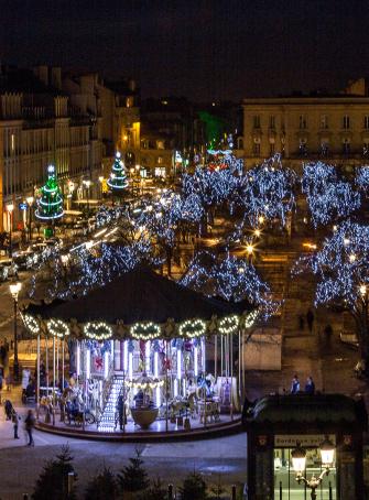 """Visite en famille """"Bordeaux à Noël"""""""