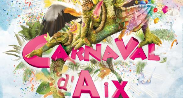Flyer Carnaval d'Aix-en-Provence 2017