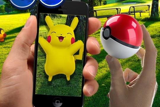 Pokémon Go : appli iPhone et Android