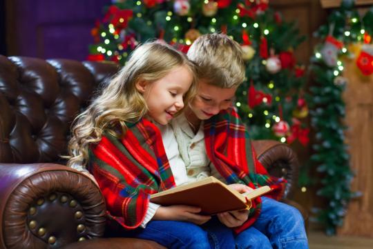 Offrir un livre pour Noël, un beau cadeau