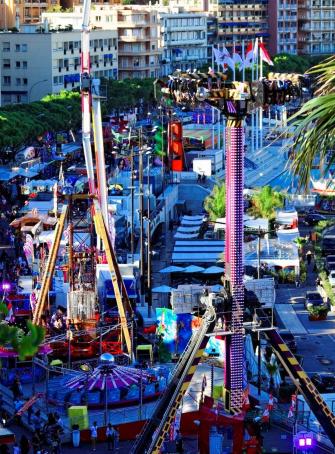 Foire attractions Monaco