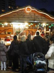 Marché de Noël de la Croix-Rousse à Lyon