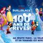 Disney sur glace - 100 ans de rêve : affiche 900x700