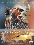 Les Aigles des remparts à Provins - Affiche 2017