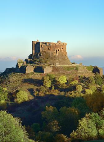 Château de Murol : paysage
