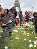 Chasse aux oeufs de Pâques 2016 organisé par le Secours Populaire Paris