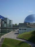Cité des sciences et de l'industrie - Vue extérieure